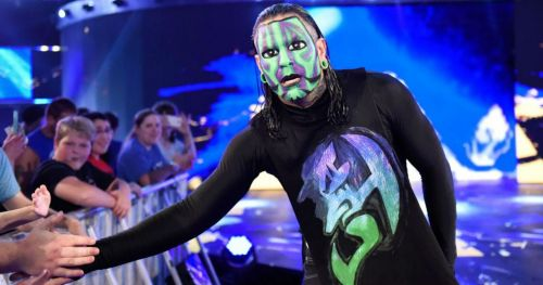 Jeff Hardy has opened up about his scary shoulder injury