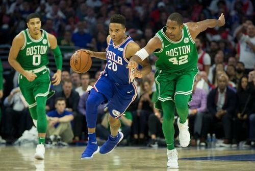 Boston Celtics v Philadelphia 76ers