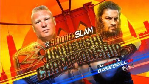 Brock Lesnar vs. Roman Reigns SummerSlam
