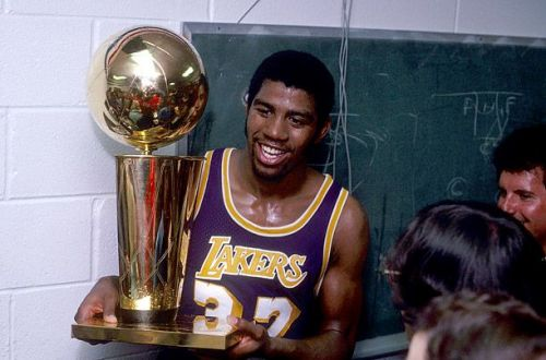 This was Magic's second NBA title and second NBA Finals MVP of his career.