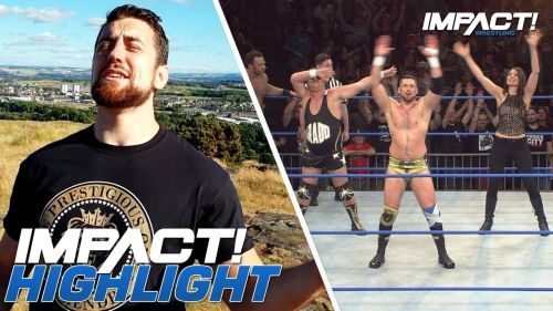 Joe Hendry answered a question during the Impact Wrestling Teleconference this week!