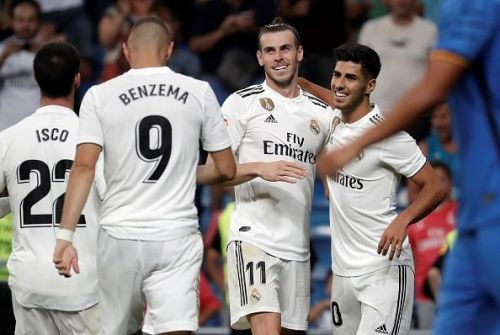 Real Madrid kick-started their campaign with a comfortable win