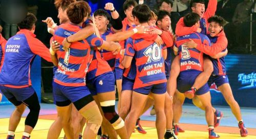 The South Koreans pulled off an epic comeback with Jang Kun Lee's 9 points in raid and Young Chang Ko's high 5 which consisted of 2 super tackles.