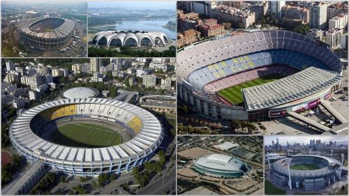Top 25 biggest soccer stadiums in the world