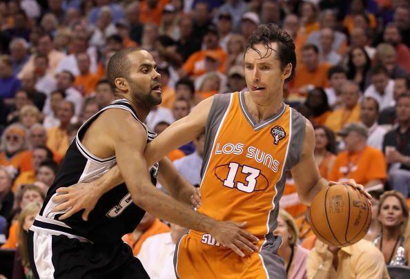 San Antonio Spurs v Phoenix Suns, Game 2