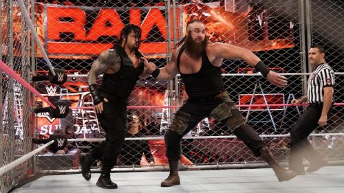 Roman Reigns found himself victimised by Braun Strowman yet again!