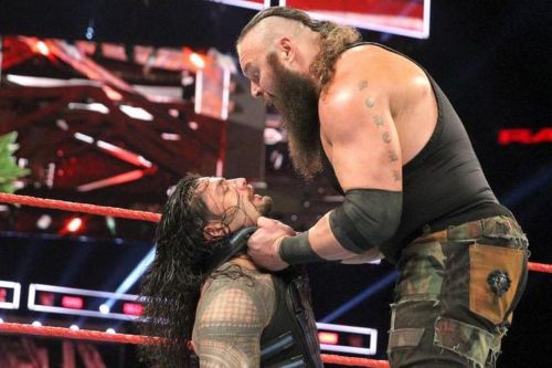 Image result for wwe strowman vs reigns