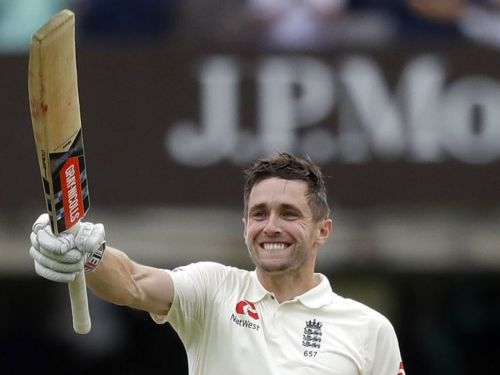 Image result for woakes does the honours board treble