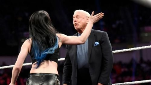Paige spotted slapping wrestler at independant show