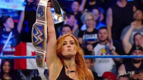 Becky Lynch SmackDown August 28
