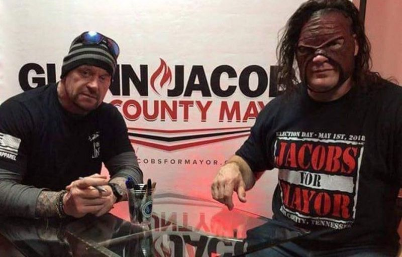 The Undertaker is good friends in real-life with fellow WWE big man Kane