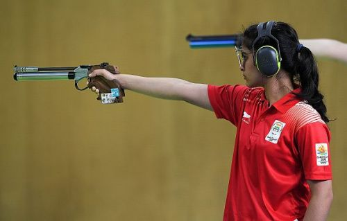 Shooting - Commonwealth Games Day 4