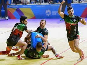 Indian Kabaddi team failed to win gold medal