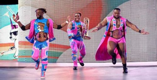 The New Day don't currently have challengers for Hell in a Cell