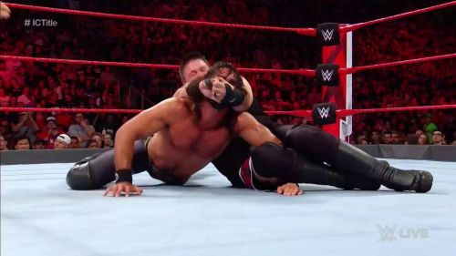 Owens and Rollins put on the match of the night