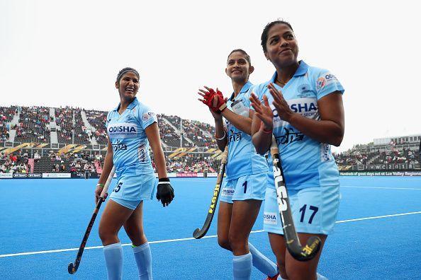 India v USA - FIH Womens Hockey World Cup