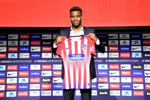 Thomas Lemar joined for a club record fee in the summer