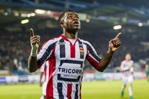 Bartholomew Ogboche will hope to carry his form from Willem II onto his career with NEUFC