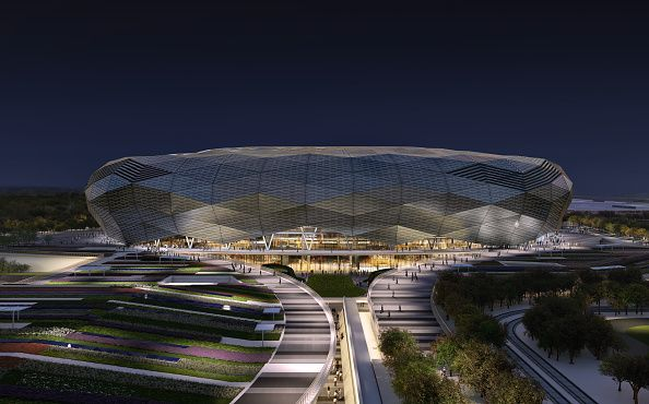 Rendered Illustations Of Qatar 2022 Venues