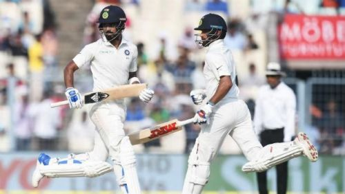 Image result for dhawan-rahul partnership in 3rd test vs ENgland