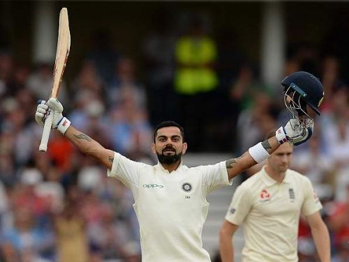 Captain Virat Kohli has put behind the ghosts of 2014 to score his 23rd Test ton.