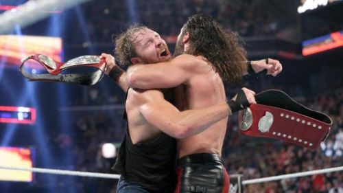 Image result for wwe ambrose and rollins