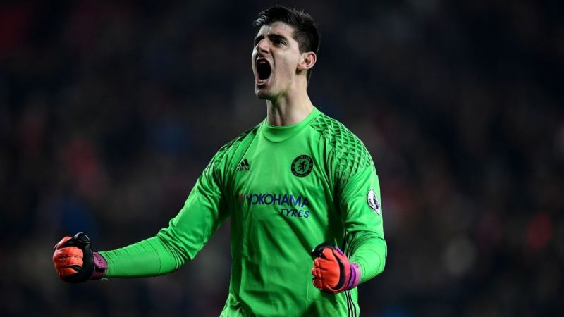 Courtois left Chelsea to join Real Madrid