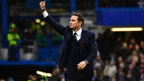 Lampard has started his job as Derby manager with five wins in seven games