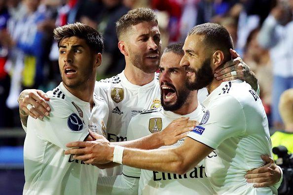 Real Madrid v Atletico Madrid - UEFA Super Cup