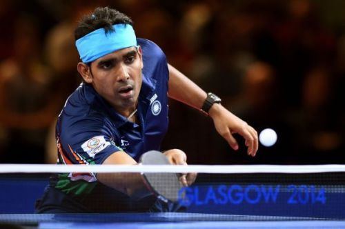 The Indian table tennis men's team settled for a historic bronze medal after going down 0-3 to South Korea in a lop-sided semifinal