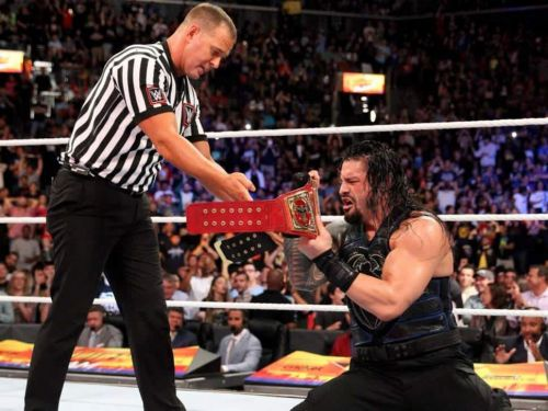 Image result for roman reigns universal champion