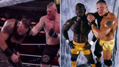 In today's list, we look at 3 of Brock Lesnar's wrestling friends and 2 he probably doesn't like...