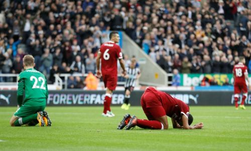 Image result for liverpool vs newcastle 1-1