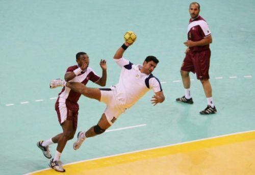 15th Asian Games Doha 2006 Handball: Qatar v India
