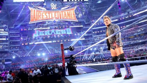 Chris Jericho took on AJ Styles at WrestleMania