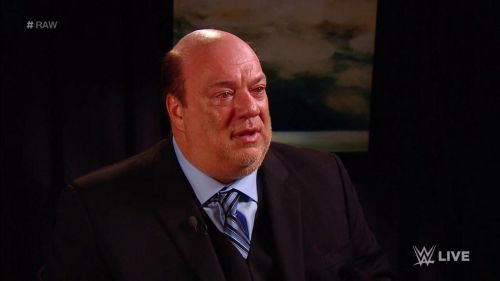 Paul Heyman delivered one of the best promos of his career