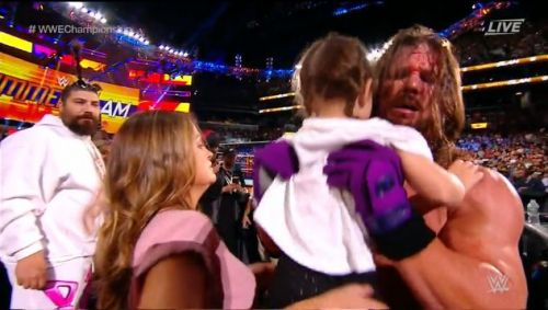 AJ Styles shares a heartwarming moment with his family...