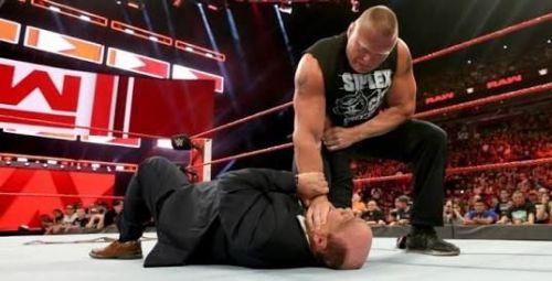 Brock Lesnar turned on his advocate Paul Heyman
