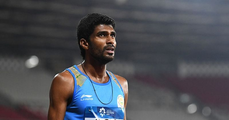 Jinson Johnson clinched the gold medal