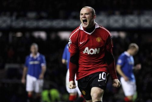 Glasgow Rangers FC v Manchester United - UEFA Champions League