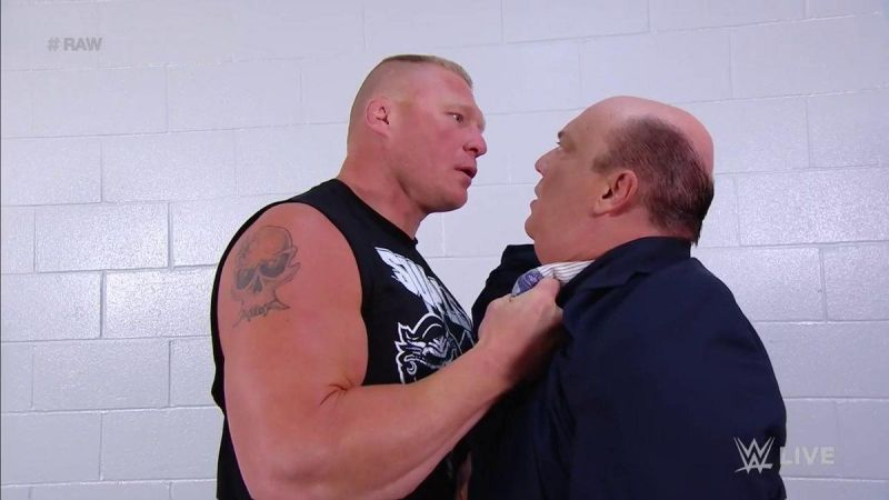 Brock Lesnar sowed the seeds for his own heel turn