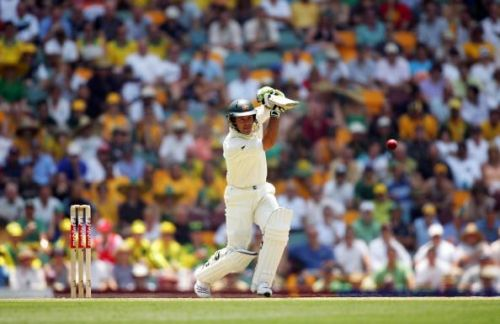 First Test - Australia v England: Day Two