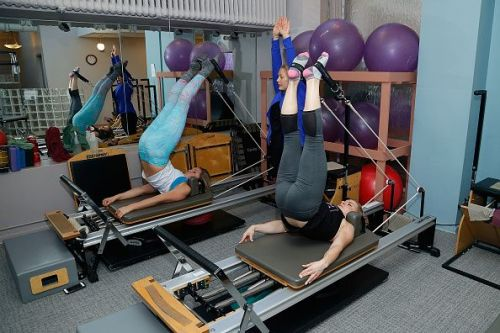 Miss America Contestants Resolve to Get Fit with Big Piano Fitness at NYC's Pilates on Fifth