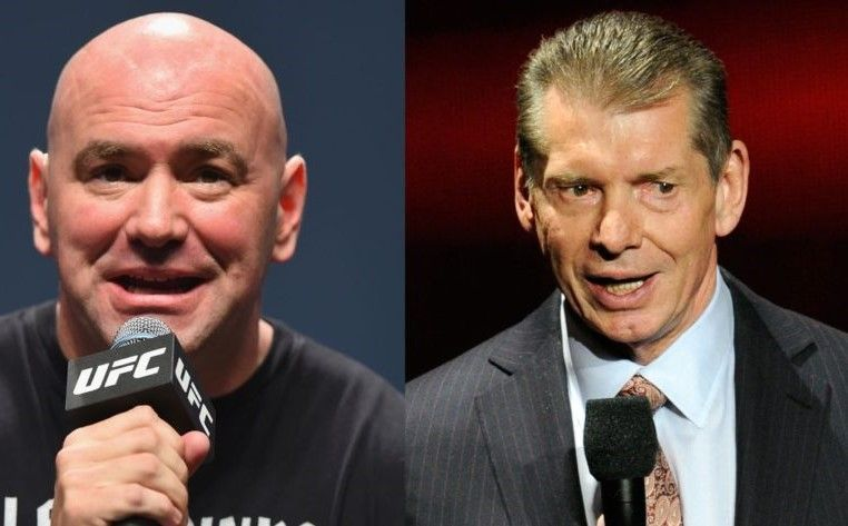 UFC President Dana White (left) and WWE head honcho Vince McMahon (right) are regarded as two of the very best in the sports-entertainment business today