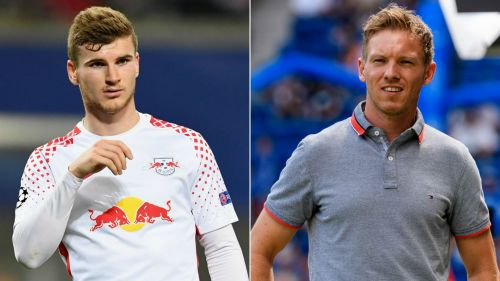 Timo Werner and Julian Nagelsmann - cropped