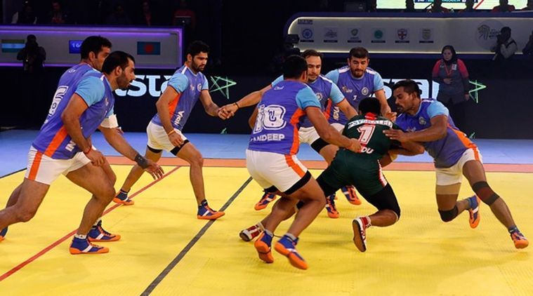 India Vs Iran Kabaddi final - Asian Games 2018