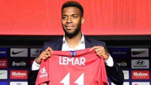 Image result for thomas lemar atletico