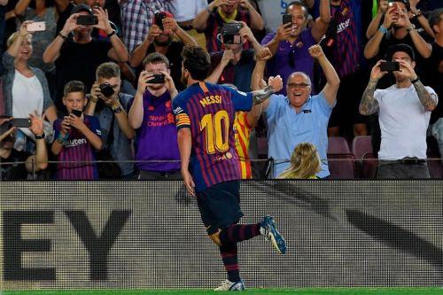 Messi scored 6000th La Liga Goal for Barcelona