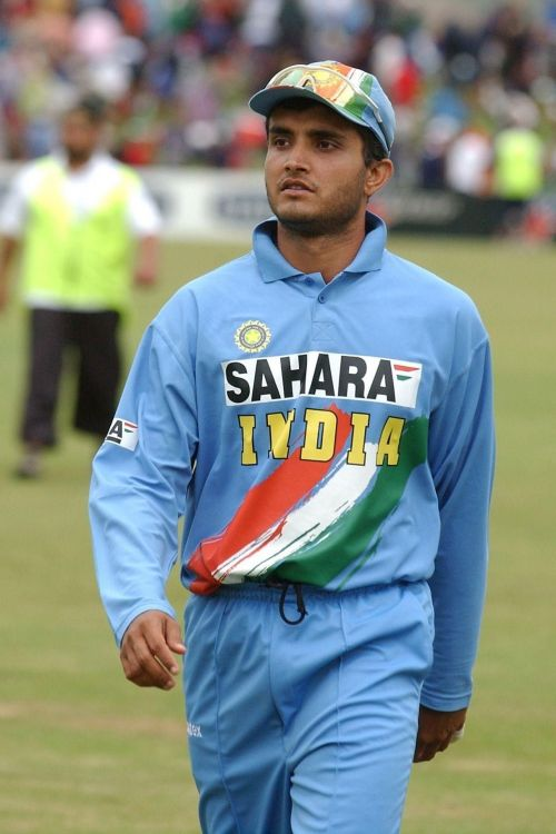 Ganguly was awarded with Padma Shri in 2004