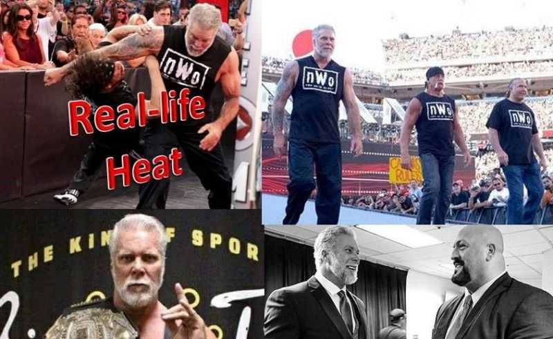 While Kevin Nash has several good friends and notable enemies, here are a few relatively surprising friends and foes of